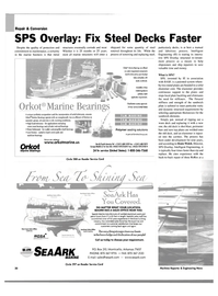 Maritime Reporter Magazine, page 32,  Oct 2003
