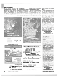 Maritime Reporter Magazine, page 34,  Oct 2003