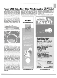Maritime Reporter Magazine, page 35,  Oct 2003