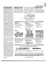 Maritime Reporter Magazine, page 43,  Oct 2003