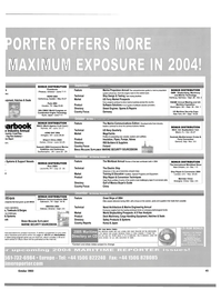 Maritime Reporter Magazine, page 47,  Oct 2003