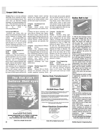 Maritime Reporter Magazine, page 50,  Oct 2003
