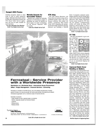 Maritime Reporter Magazine, page 54,  Oct 2003