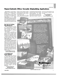 Maritime Reporter Magazine, page 59,  Oct 2003 porate technology
