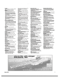 Maritime Reporter Magazine, page 89,  Oct 2003