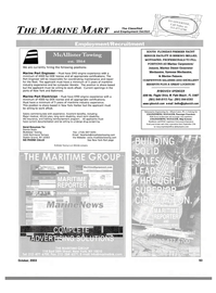 Maritime Reporter Magazine, page 95,  Oct 2003