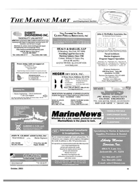 Maritime Reporter Magazine, page 97,  Oct 2003 Massachusetts