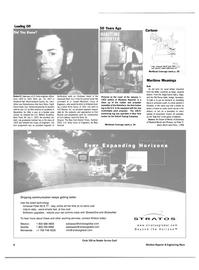Maritime Reporter Magazine, page 8,  Nov 2003