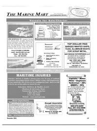 Maritime Reporter Magazine, page 110,  Nov 2003 Virginia