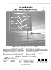Maritime Reporter Magazine, page 4th Cover,  Nov 2003
