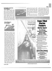 Maritime Reporter Magazine, page 11,  Nov 2003