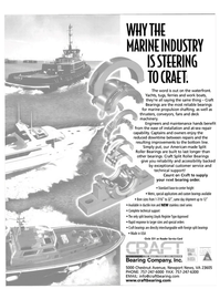 Maritime Reporter Magazine, page 2nd Cover,  Nov 2003 deck machinery