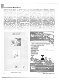 Maritime Reporter Magazine, page 22,  Nov 2003 Port Facility Security