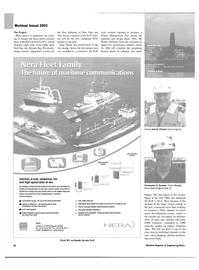 Maritime Reporter Magazine, page 26,  Nov 2003