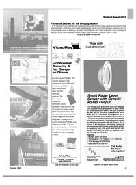 Maritime Reporter Magazine, page 27,  Nov 2003