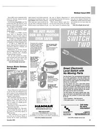 Maritime Reporter Magazine, page 29,  Nov 2003