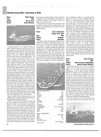 Maritime Reporter Magazine, page 34,  Nov 2003 Morton S. Bouchard IV