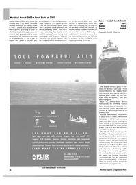 Maritime Reporter Magazine, page 37,  Nov 2003