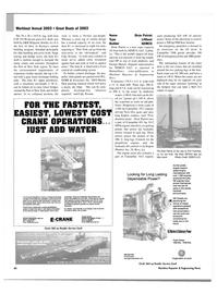 Maritime Reporter Magazine, page 41,  Nov 2003