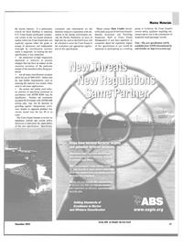 Maritime Reporter Magazine, page 64,  Nov 2003