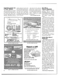 Maritime Reporter Magazine, page 65,  Nov 2003 Washington