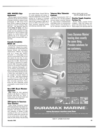 Maritime Reporter Magazine, page 66,  Nov 2003