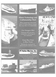 Maritime Reporter Magazine, page 5,  Nov 2003 Designs Offer Solutions