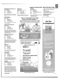 Maritime Reporter Magazine, page 78,  Nov 2003