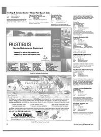 Maritime Reporter Magazine, page 79,  Nov 2003 Ohio