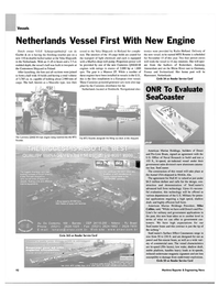 Maritime Reporter Magazine, page 95,  Nov 2003 New York
