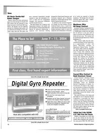 Maritime Reporter Magazine, page 10,  Dec 2003