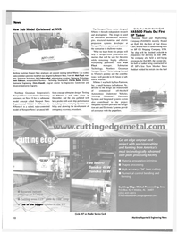 Maritime Reporter Magazine, page 12,  Dec 2003 the Newport News