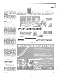 Maritime Reporter Magazine, page 13,  Dec 2003 TY