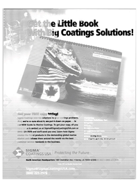 Maritime Reporter Magazine, page 2nd Cover,  Dec 2003 teciteijyS solutions