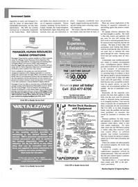Maritime Reporter Magazine, page 20,  Dec 2003
