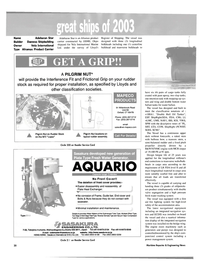 Maritime Reporter Magazine, page 22,  Dec 2003 product carrier