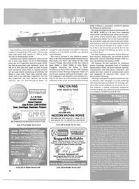 Maritime Reporter Magazine, page 34,  Dec 2003 Alaska