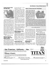 Maritime Reporter Magazine, page 37,  Dec 2003 Florida