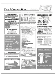 Maritime Reporter Magazine, page 43,  Dec 2003 New York