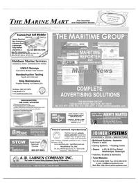 Maritime Reporter Magazine, page 44,  Dec 2003