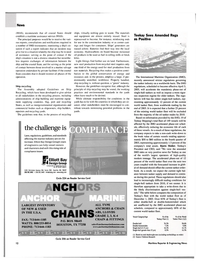 Maritime Reporter Magazine, page 12,  Jan 2004 recycled steel