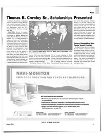 Maritime Reporter Magazine, page 13,  Jan 2004 3rd Mates