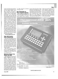 Maritime Reporter Magazine, page 15,  Jan 2004