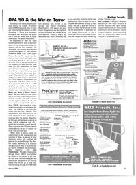 Maritime Reporter Magazine, page 17,  Jan 2004 Rick Fernandez