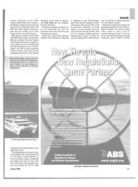 Maritime Reporter Magazine, page 21,  Jan 2004