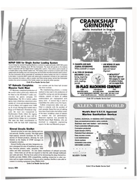 Maritime Reporter Magazine, page 35,  Jan 2004 METALSTITCH?? Only Uoyd