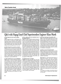 Maritime Reporter Magazine, page 40,  Jan 2004 appropriate equipment