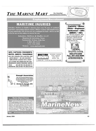 Maritime Reporter Magazine, page 61,  Jan 2004