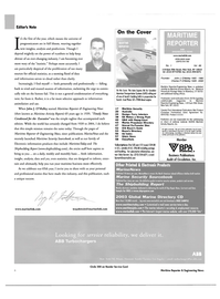 Maritime Reporter Magazine, page 6,  Jan 2004 Connecticut