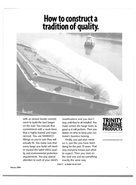 Maritime Reporter Magazine, page 8,  Feb 2004